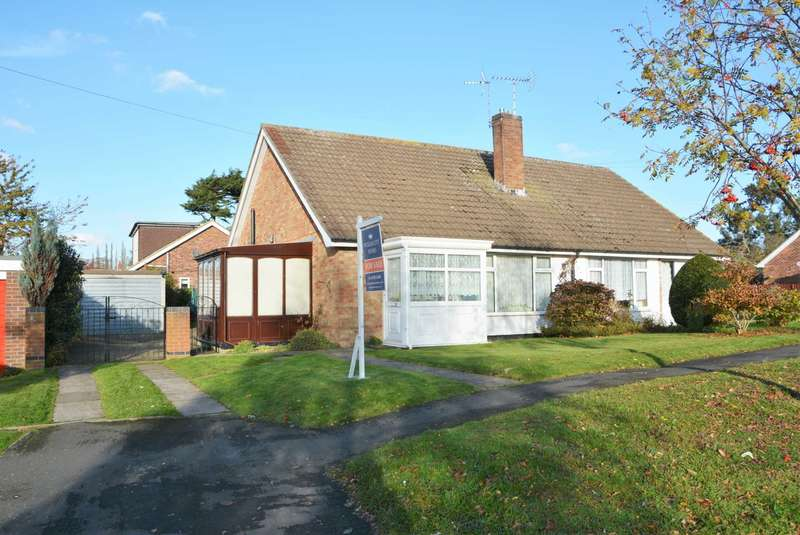 2 Bedrooms Semi Detached Bungalow for sale in South Road, Clifton Upon Dunsmore