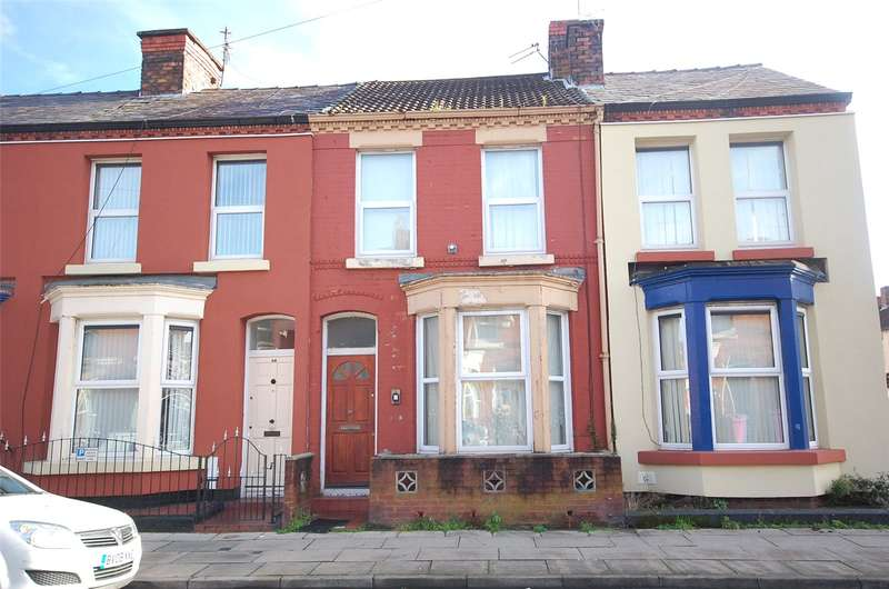 3 Bedrooms Terraced House for sale in Bagot Street, Wavertree, Liverpool, L15