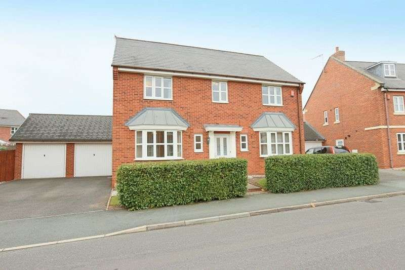 4 Bedrooms Detached House for sale in Parklands Drive, Wychwood Village, Weston