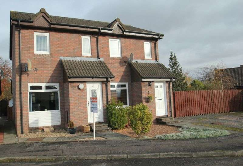 2 Bedrooms Semi Detached House for sale in Dovehill, Alloa