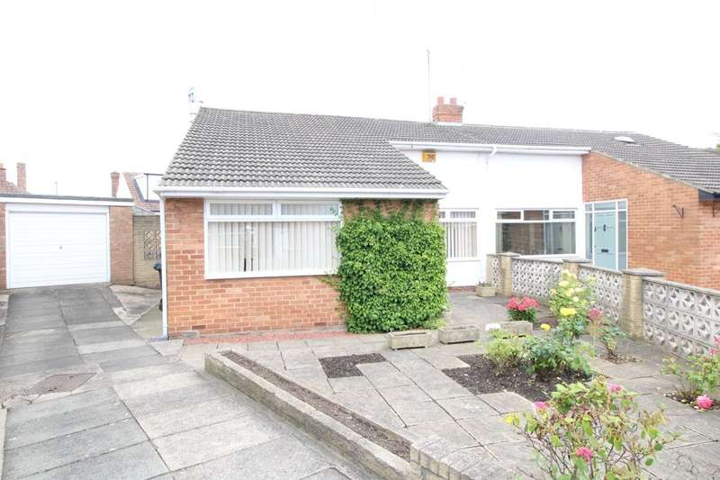 2 Bedrooms Semi Detached Bungalow for sale in Westfield Close, Middlesbrough, TS6