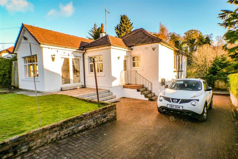 3 Bedrooms Bungalow for sale in Busby Road, Carmunnock, GLASGOW