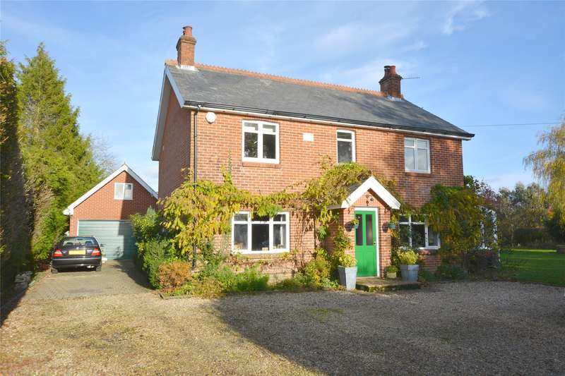 4 Bedrooms Detached House for sale in Cadnam Lane, Cadnam, Southampton, Hampshire, SO40