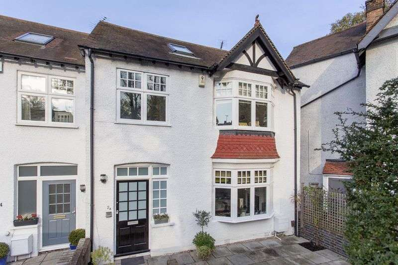 4 Bedrooms Semi Detached House for sale in Priory Gardens, Highgate, N6