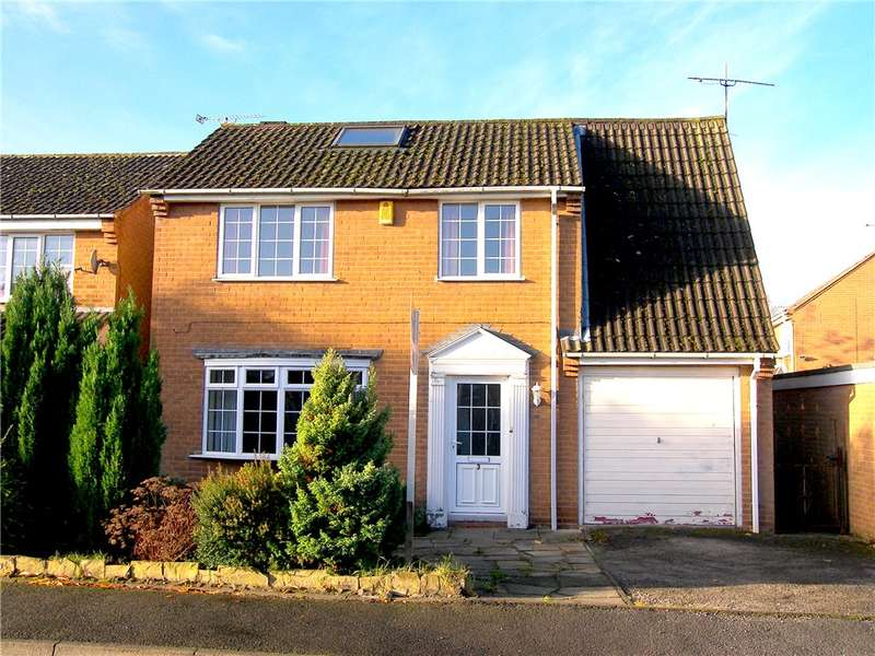 3 Bedrooms Detached House for sale in Julia Crescent, Stonebroom, Alfreton, Derbyshire, DE55