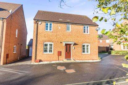 4 Bedrooms Detached House for sale in Nivelle Grove, Norton, Worcester, Worcestershire