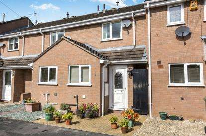 2 Bedrooms Terraced House for sale in Adelaide Close, Worcester, Worcestershire