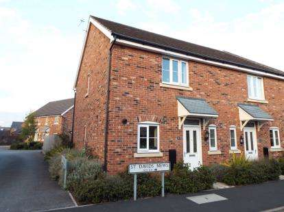 End Of Terrace House for sale in St. Davids Mews, Abbey Park Way, Weston, Crewe