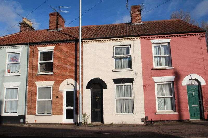 2 Bedrooms Terraced House for sale in Heigham Street, Norwich