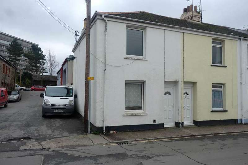 2 Bedrooms End Of Terrace House for sale in Western Terrace, Barnstaple