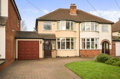 3 Bedrooms Semi Detached House for sale in Westwood Road, Sutton Coldfield, West Midlands, .
