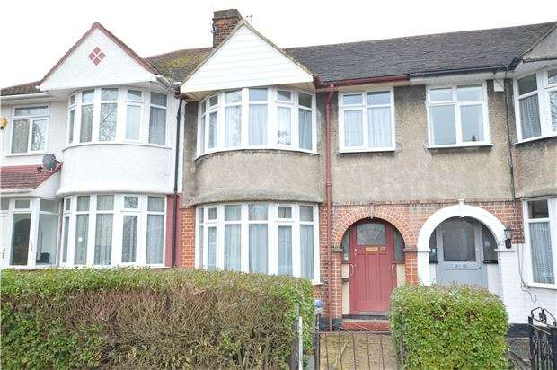 3 Bedrooms Terraced House for sale in Winchester Avenue, KINGSBURY, NW9 9TB