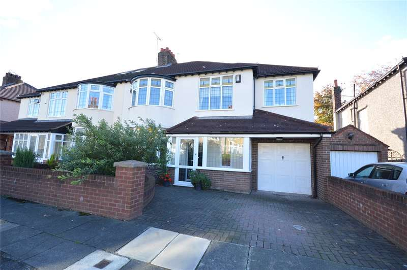 5 Bedrooms Semi Detached House for sale in Druids Cross Gardens, Calderstones, Liverpool, L18