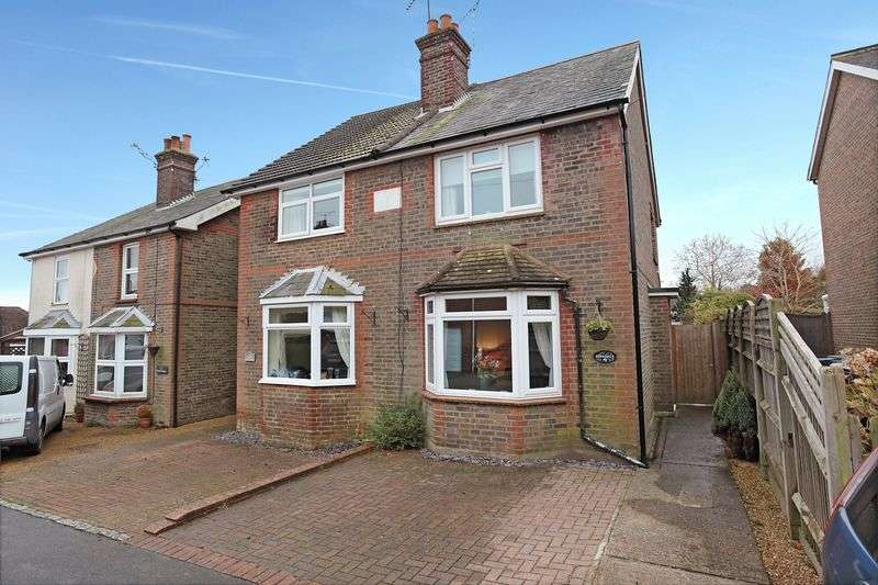 3 Bedrooms Semi Detached House for sale in Poundfield Road, Crowborough, East Sussex