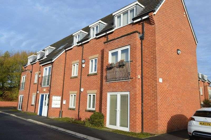 2 Bedrooms Flat for sale in Millstone Court, Golborne, WA3 3NJ