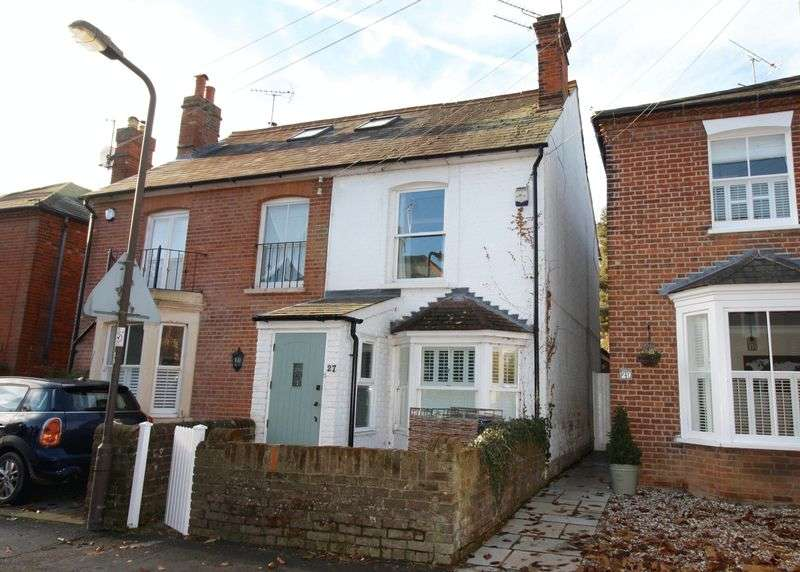 3 Bedrooms Semi Detached House for sale in Glade Road, Marlow.
