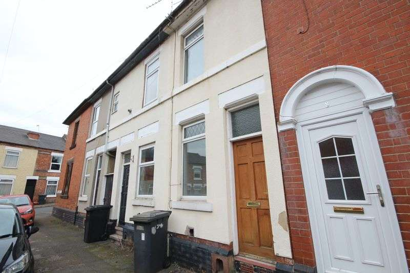 2 Bedrooms Terraced House for sale in RADBOURNE STREET, DERBY