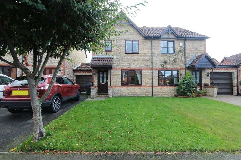 3 Bedrooms Semi Detached House for sale in St. Godrics Drive, Houghton Le Spring