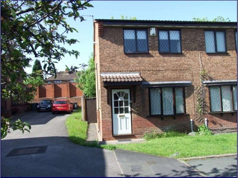 2 Bedrooms Terraced House for sale in Crown Court, Wednesbury