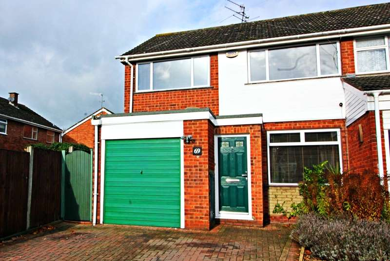 3 Bedrooms Semi Detached House for sale in Longfellow Road, Worcester, Worcester, WR3