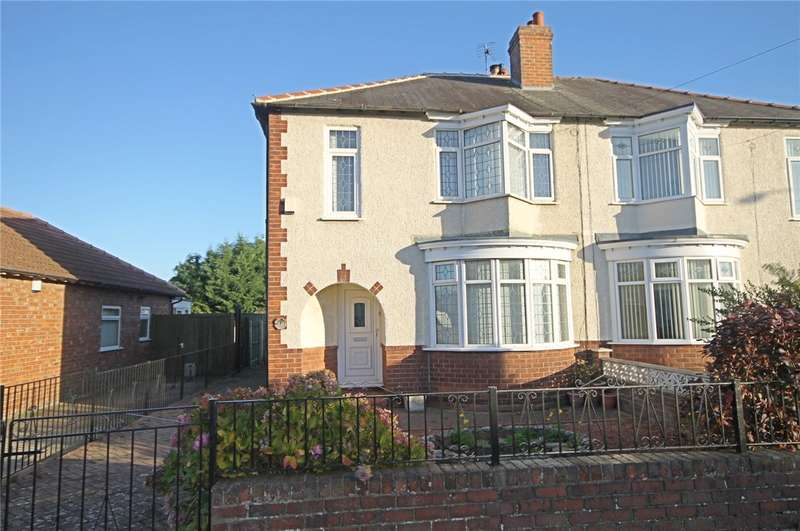 3 Bedrooms Semi Detached House for sale in Welbeck Avenue, Darlington, DL1