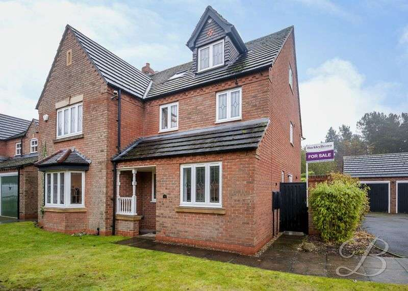 6 Bedrooms Detached House for sale in Oak View Rise, Mansfield