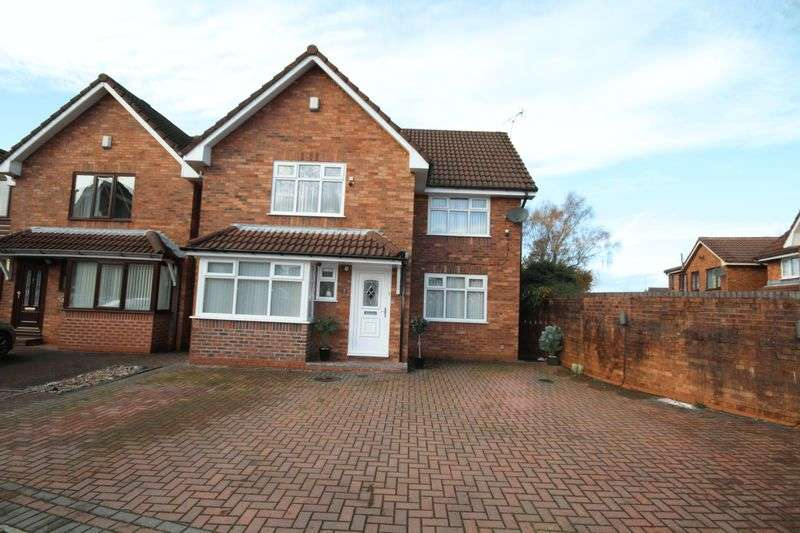4 Bedrooms Detached House for sale in MOSSLAND CLOSE, Hopwood, Heywood OL10 2PB