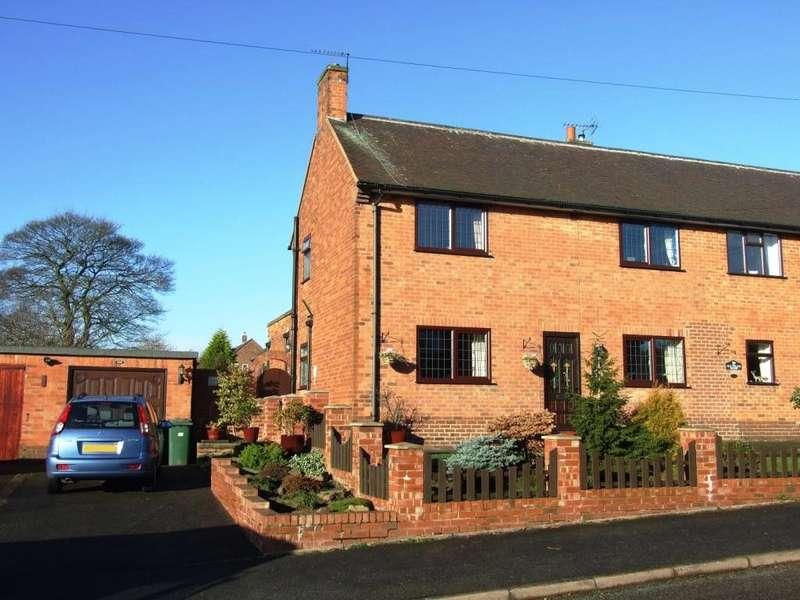 3 Bedrooms Semi Detached House for sale in Park Road, Belper, Derbyshire, DE56