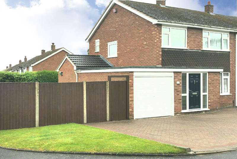 3 Bedrooms Semi Detached House for sale in Wildacres, Wollaston, Stourbridge, DY8