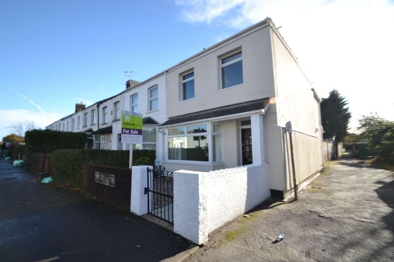 3 Bedrooms End Of Terrace House for sale in Tyn-y-Parc Road, Rhiwbina, Cardiff. CF14 6BN