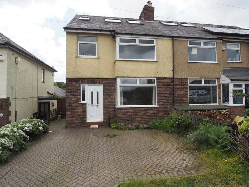 4 Bedrooms Semi Detached House for sale in Brooklands Road, Chapel-en-le-Frith, High Peak, Derbyshire, SK23 0PW