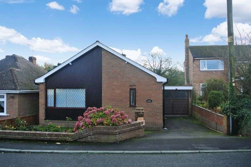 2 Bedrooms Detached Bungalow for sale in Limekiln Bank, St Georges, Telford, Shropshire.