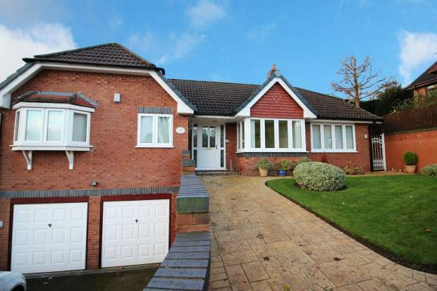 4 Bedrooms Detached Bungalow for sale in Coed Y Fron, Holywell, Clwyd, CH8 7UJ