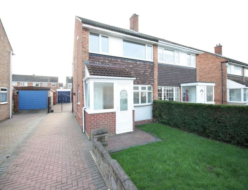 3 Bedrooms Semi Detached House for sale in Princes Square, Thornaby, Stockton-On-Tees, TS17