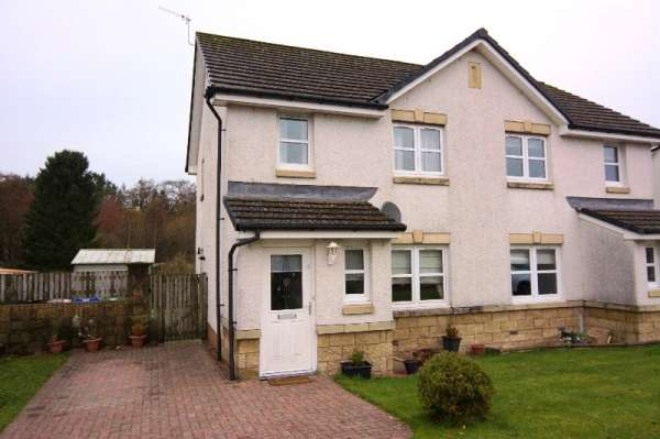 3 Bedrooms Semi Detached House for sale in Balfron, Glasgow