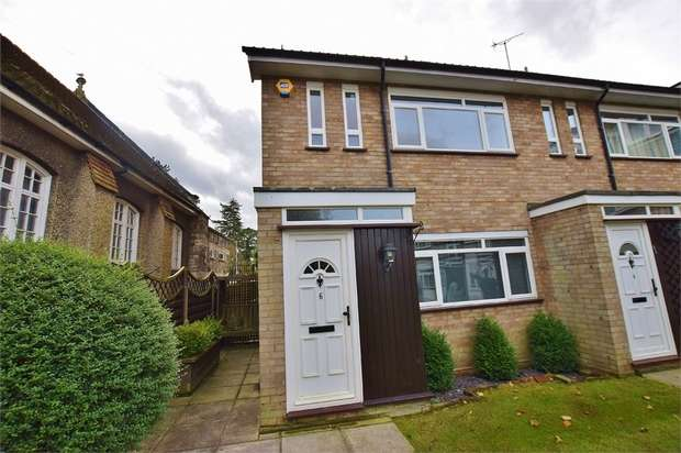 2 Bedrooms Maisonette Flat for sale in St Peters Close, Bushey Heath, BUSHEY, Hertfordshire
