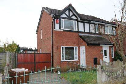 2 Bedrooms Semi Detached House for sale in St. Elizabeths Road, Aspull, Wigan, Greater Manchester, WN2