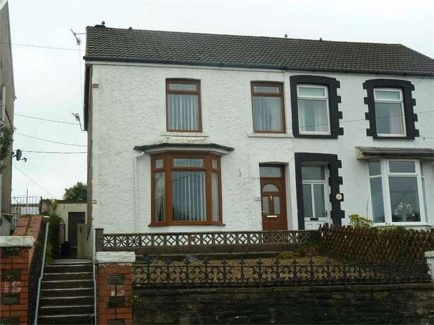 3 Bedrooms Semi Detached House for sale in Bridgend Road, Maesteg, Maesteg, Mid Glamorgan