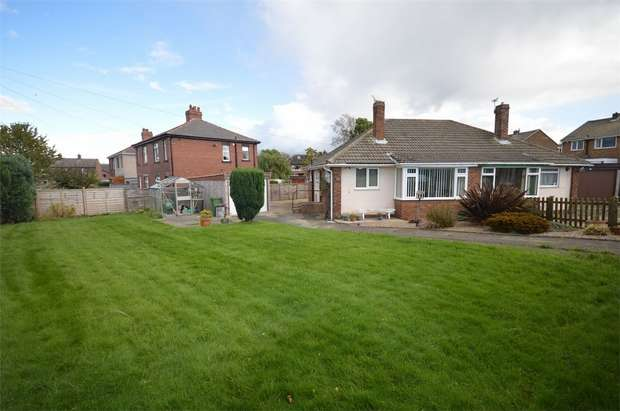 2 Bedrooms Semi Detached Bungalow for sale in Wakefield Road, Clayton West, HUDDERSFIELD, West Yorkshire