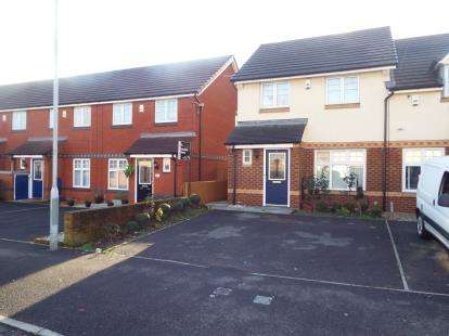 3 Bedrooms Semi Detached House for sale in Lichfield Road, Halewood, Liverpool, Merseyside, L26