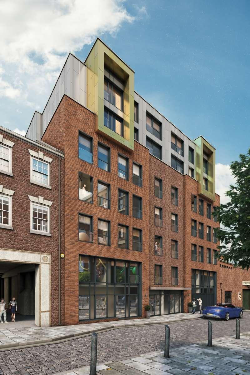 1 Bedroom Studio Flat for sale in Duke Street, Liverpool, L1