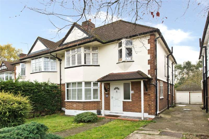 2 Bedrooms Maisonette Flat for sale in Aboyne Drive, London, SW20