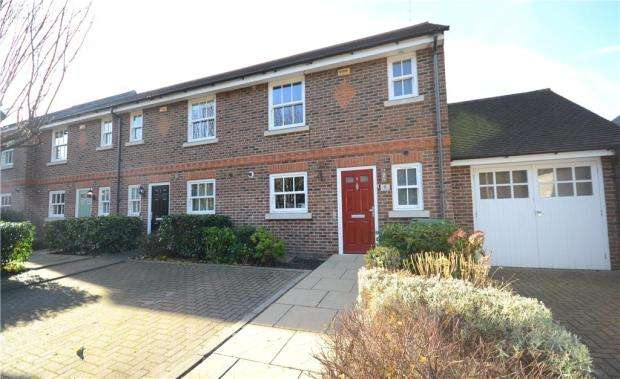 3 Bedrooms End Of Terrace House for sale in Charlotte Mews, Farnborough, Hampshire