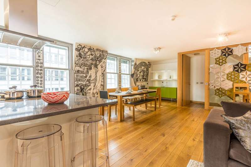 3 Bedrooms Flat for sale in High Holborn, West End, WC1V