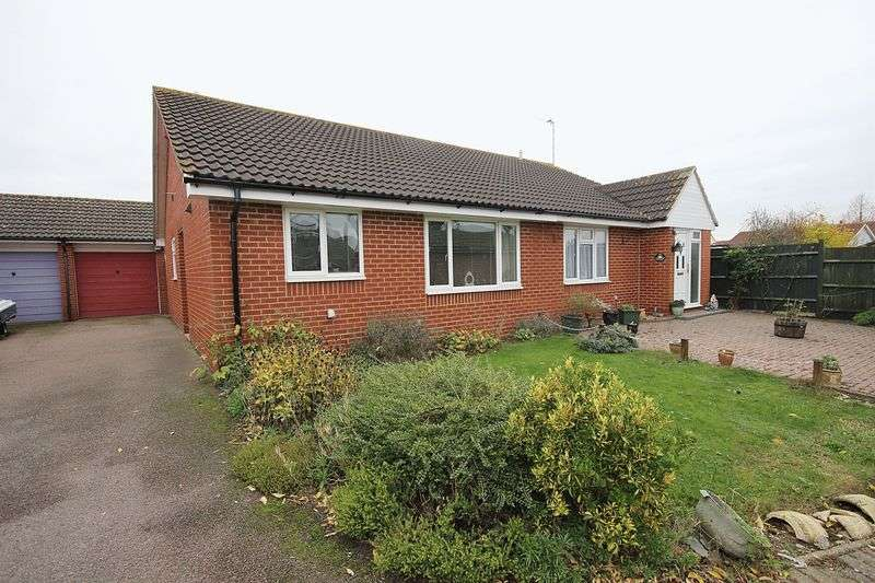 2 Bedrooms Semi Detached Bungalow for sale in The Willows, Crancott Close, Houghton Conquest