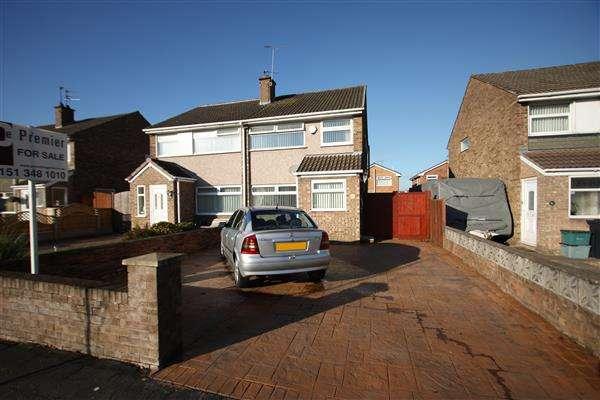 3 Bedrooms Semi Detached House for sale in Hope Farm Road, Ellesmere Port
