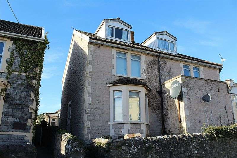 2 Bedrooms Flat for sale in Lower Kewstoke Road, Worle