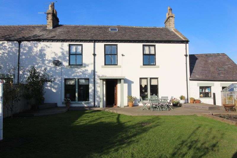 4 Bedrooms Semi Detached House for sale in Burnmoor Farmhouse, Golf Course Road, Houghton Le Spring
