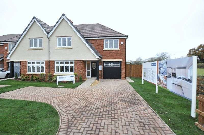 4 Bedrooms Semi Detached House for sale in POSTERN ROAD, TATENHILL