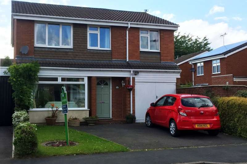 4 Bedrooms Detached House for sale in Mercia Drive, Perton, Wolverhampton, WV6